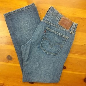 Levi's 514 Slim Straight Men's Denim Blue Jeans